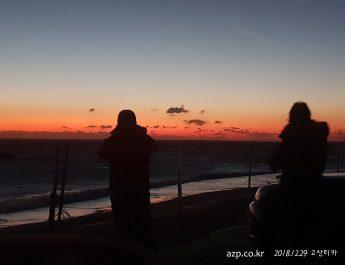 고산디카반 해돋이 촬영